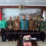 Bersama Nusantara Mengaji, UNPAM Sampaikan Terobosan Pendidikan Ke Menristek