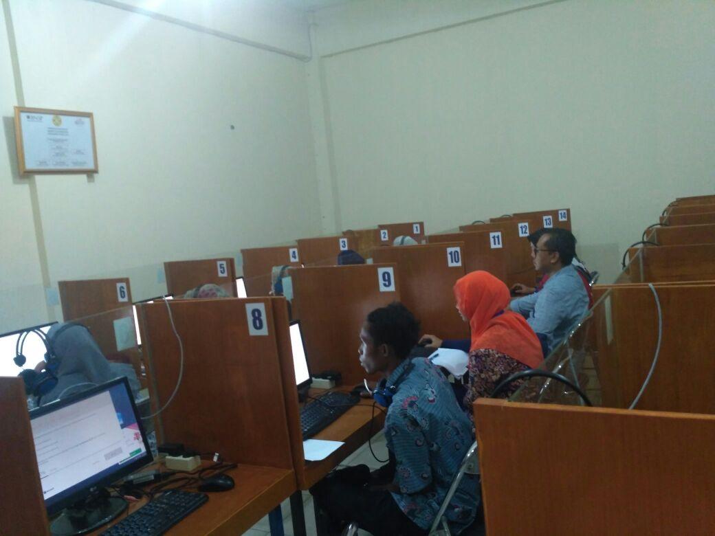 PLT Unpam Fasilitasi Uji TOEP dan TKDA Ratusan Dosen Indonesia