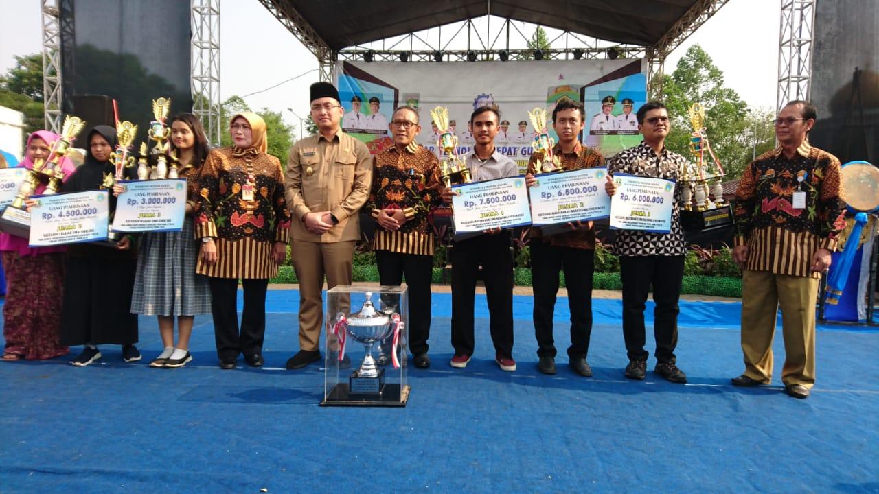 Mahasiswa Teknik Elektro Raih Peringkat II Lomba Inovasi Provinsi Banten 2018