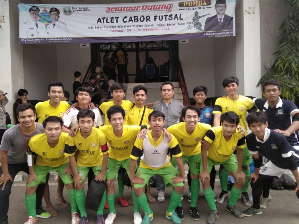 Tim Futsal Unpam Raih Perak pada Pomda VII Banten