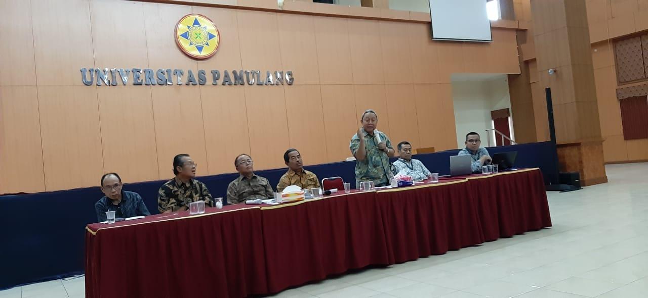 Rapat Pembinaan BKD, Rektor Unpam Singgung Kedisiplinan Dosen